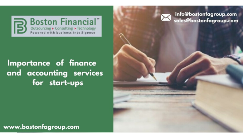 Importance of finance and accounting services for start-ups